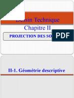 chapitre 2 PROJECTION DES  SOLIDES