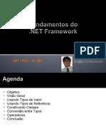 .NET - POO - C# .NET - Aula 01 - Fundamentos do .NET Framework