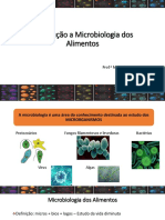 Análise microbiológica de alimentos - Aula Microbiologia dos Alimentos