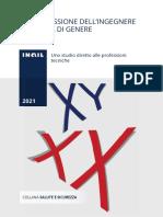 INAIL - La Professione Ingegnere in Ottica Di Genere