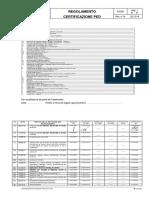 INAIL - Regolamento certificazione PED - INAIL Rev. 14 20.12.2019