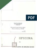 O sector da construcao civil em Portugal-CES