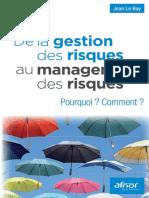 De La Gestion Des Risques Au Management Des Risques Pourquoi Comment by Jean Le Ray (Z-lib.org)