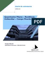 Quantitativo Pilares
