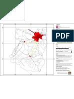 Áreas urbanas do Município de Dracena