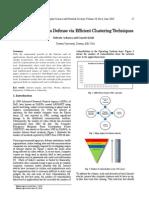 Improved Anti-Virus Defense Via Efficient Clustering Techniques