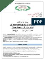 Fiche de Lecture Marketing Touristique
