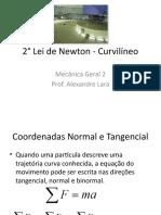 2-¦ Lei de Newton - Curvil+¡neo