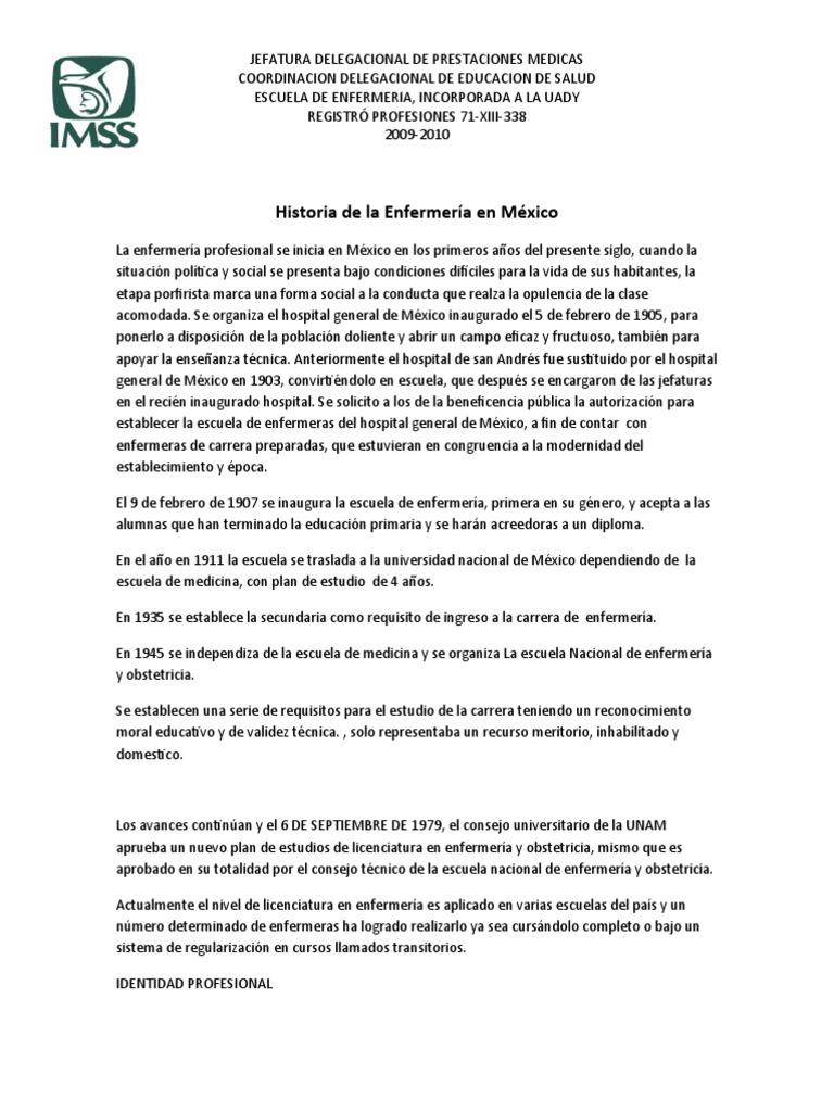 Magnífico El Plan De Estudios Del Profesional De Enfermería Y El ...