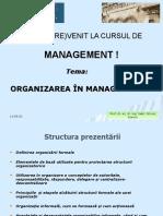 5 Organizarea