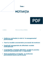 9.Motivatia