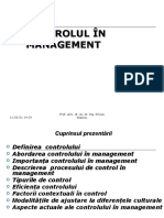 10. Controlul in Management