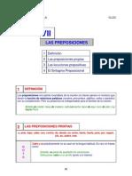 preposiciones definicion