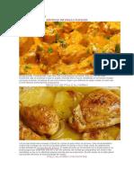 las mejroes recetas de pollo del mundo mundial