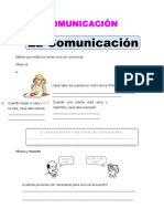 0. Ficha Formas de Comunicacion Para Quinto de Primaria