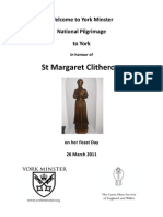 St Margaret Clitherow Order of Service