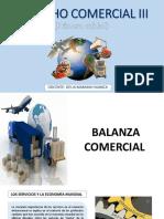 DERECHO COMERCIAL III - BALANZA COMERCIAL