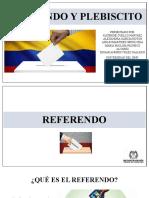 Plebiscito y Referendo