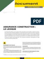 Lexique Assurance Construction 2