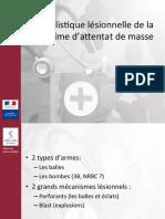 JML2016 - balistique lésionnelle