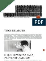 Abuso Sexual Infantil No Peru