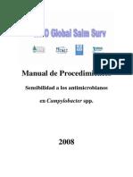 Manual Sensibilidad en Campylobacter_2008