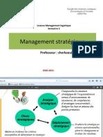 Chapitre 2 Management Stratégique
