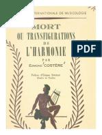 Costere - Mort Ou Transfigurations de l'Harmonie