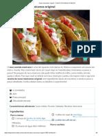 Tacos mexicanos original - COM FOTOS PASSO A PASSO!