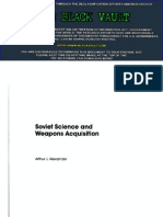 Soviet Science and Weapons Acquisition