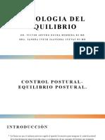 FISIOLOGIA DEL EQUILIBRIO