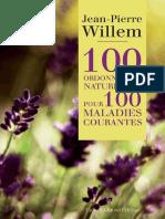 Dr Willem Jean Pierre 100 Ordonnances Naturelles Pour 100 Maladies Courantes