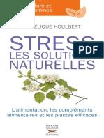 Stress Les Solutions Naturelles. L Alimentation Angelique Houlbert