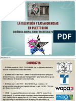 La Televisión y las Audiencias en Puerto Rico