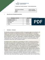 RELATORIO FINAL- EDUCAÇÃO INFANTIL- PLANO EMERGENCIAL