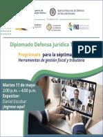 Séptima sesión Diplomado Defensa Jurídica