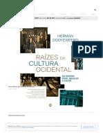 Livro Raízes Da Cultura Ocidental no Submarino.com