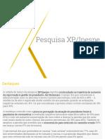 Pesquisa XP 2021 03