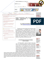 SOSCONCURSEIROS.com.br _ Resumo Esquematizado Sobre Aplicabilidade Das Normas Constitucionais E Controle De Constitucionalidade