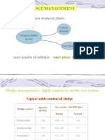 Sludge mngment, anaerobic treatment and aquatic plant systems