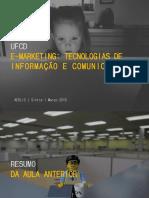 E-Marketing_ Tecnologias de informação e de comunicação UFCD E-MARKETING_ TECNOLOGIAS DE INFORMAÇÃO E COMUNICAÇÃO