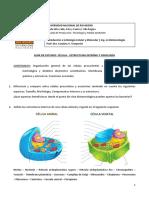 Guía de estudio- Estructura interna y fisiología de la célula