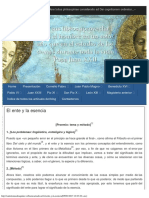 El ente y la esencia - Santo Tomás de Aquino