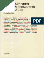LECHTE, J. - 50 pensadores contemporáneos esenciales - Ediciones Cátedra, Madrid, 1996