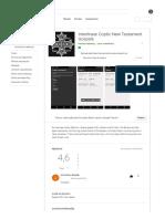 Interlinear Coptic New Testament Gospels – Apps no Google Play