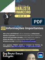 AULA 2 - INTENSIVÃO DO ANALISTA FINANCEIRO
