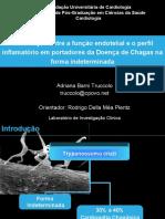 Truccolo - Função endotelial - Perfil Inflamatório - Chagas