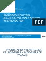SESION III - INVESTIGACIÓN DE ACCIDENTES