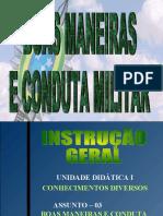 Ass 03 - Boas Maneiras e Conduta Militar-SD EV 2019