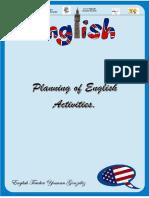 Planificación de Inglés Abril 2021